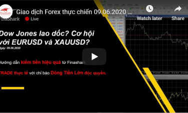 Giao dịch Forex thực chiến 09.06.2020...